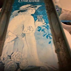 Antique Coca-Cola tray